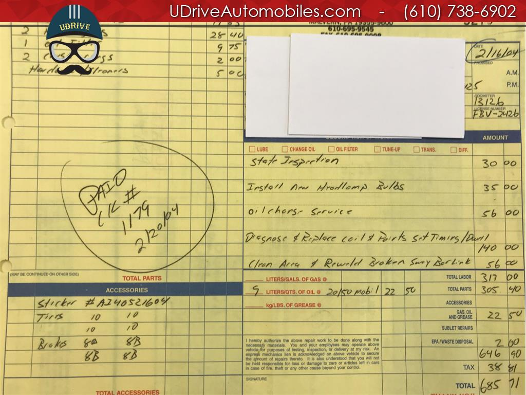 1970 Porsche 911 911T Detailed Service History 1 Owner Video - Photo 50 - West Chester, PA 19382