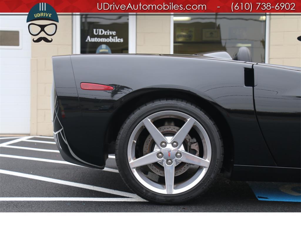 2005 Chevrolet Corvette 6 Speed Z51 Triple Black Convertible 23k Miles Nav - Photo 14 - West Chester, PA 19382
