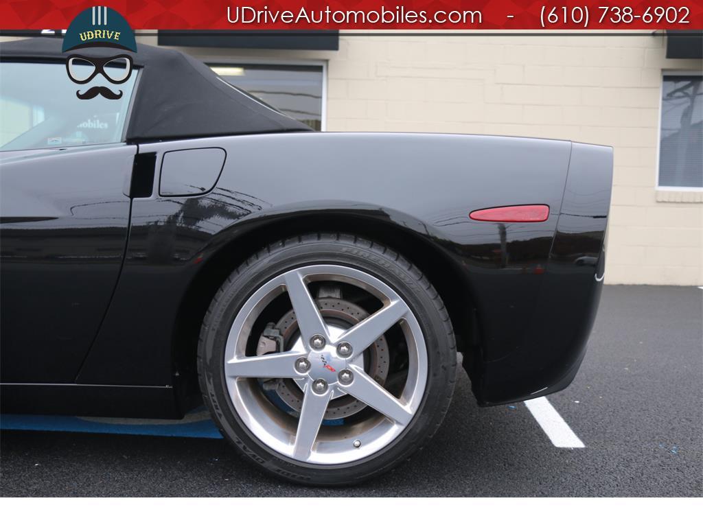 2005 Chevrolet Corvette 6 Speed Z51 Triple Black Convertible 23k Miles Nav - Photo 18 - West Chester, PA 19382