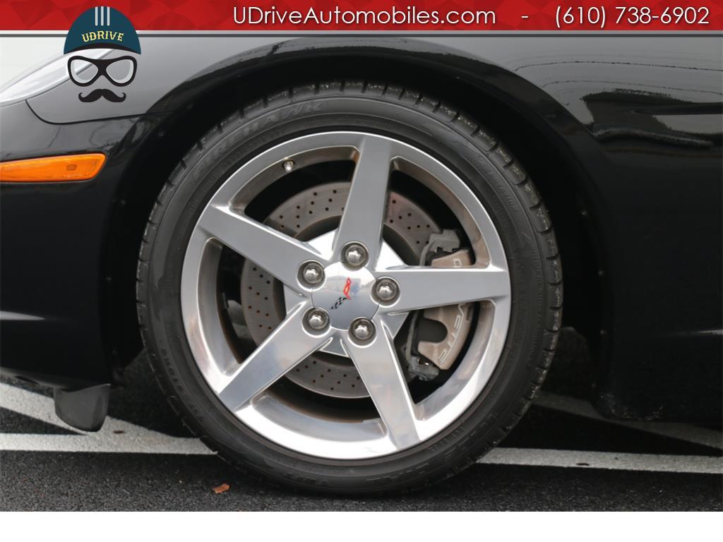 2005 Chevrolet Corvette 6 Speed Z51 Triple Black Convertible 23k Miles Nav - Photo 29 - West Chester, PA 19382