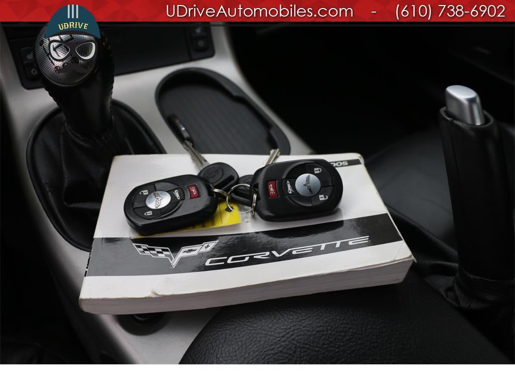 2005 Chevrolet Corvette 6 Speed Z51 Triple Black Convertible 23k Miles Nav - Photo 35 - West Chester, PA 19382
