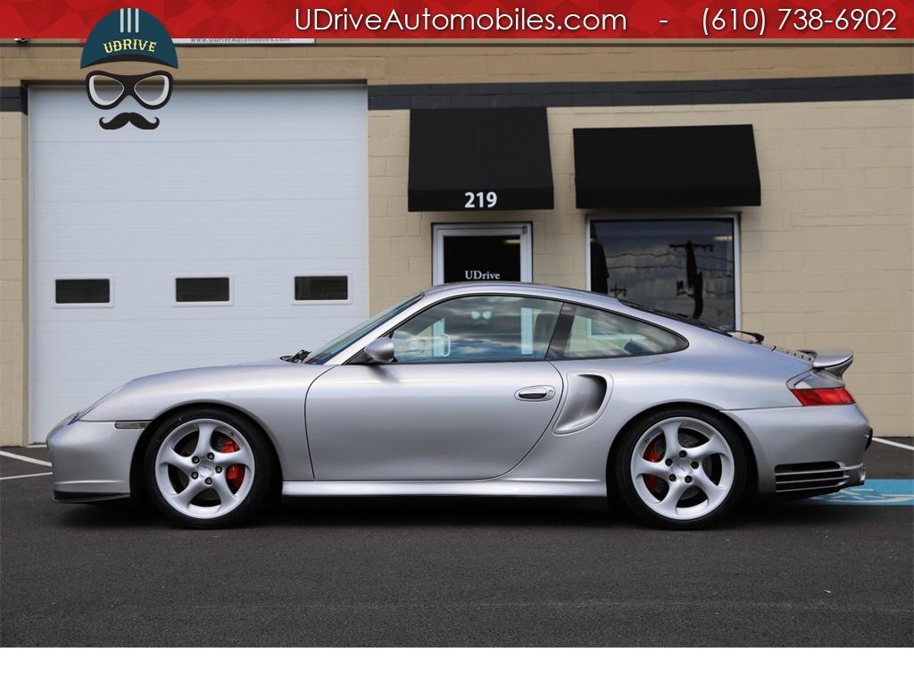 2001 Porsche 911 996 Turbo 6 Speed 26k Miles Black Leather