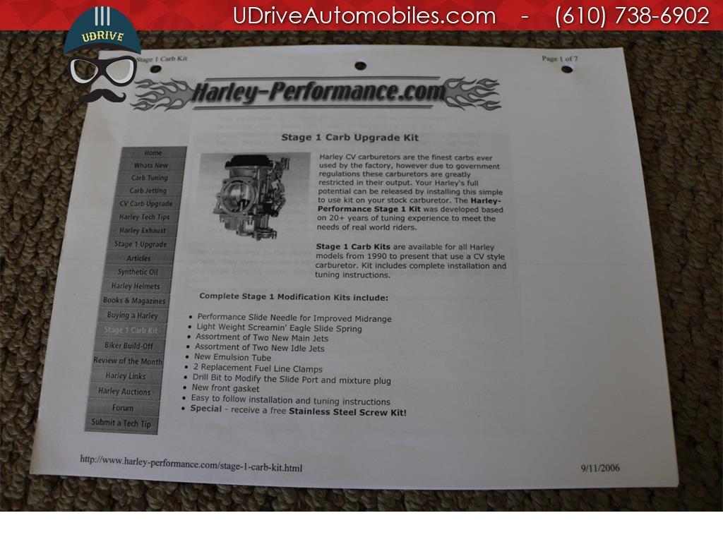 1998 Harley-Davidson Softail FLSTS Heritage Springer 95th