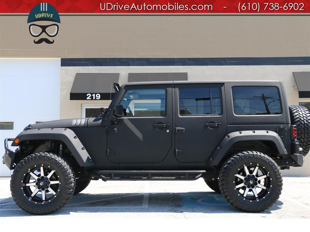 2017 Jeep Wrangler Unlimited Sport 4x4 Auto Hardtop Kevlar Lifted Photo 1 West Chester