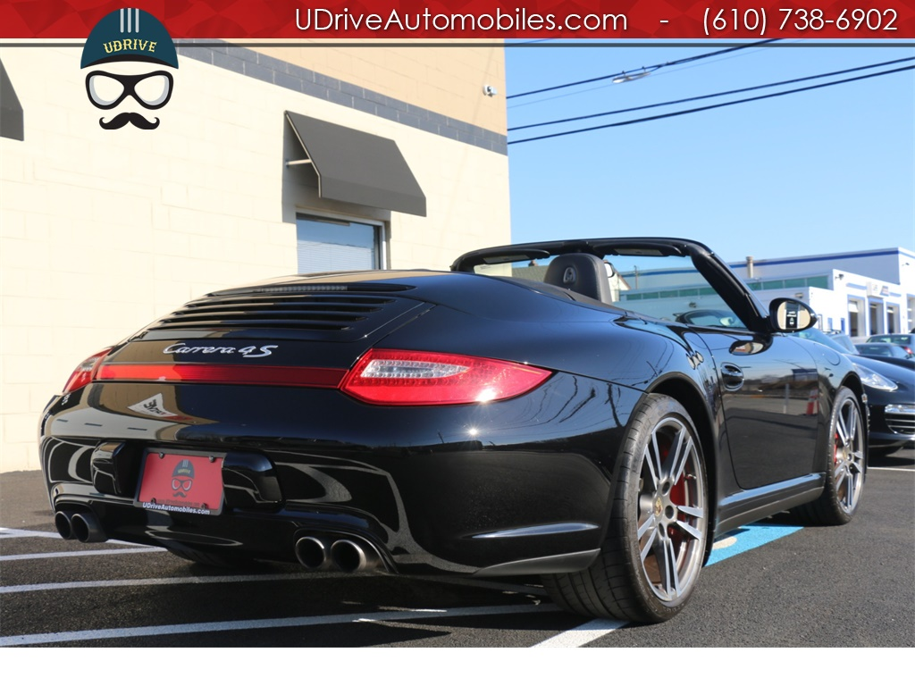 2010 Porsche 911 11k Miles Carrera 4S Cabriolet 6 Speed Manual C4S - Photo 7 - West Chester, PA 19382