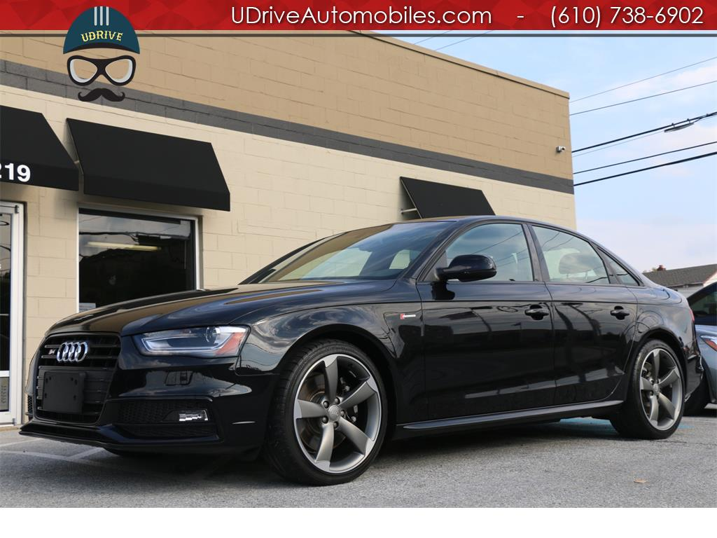 2014 audi s4 30t prem plus black optics nav 1 owner