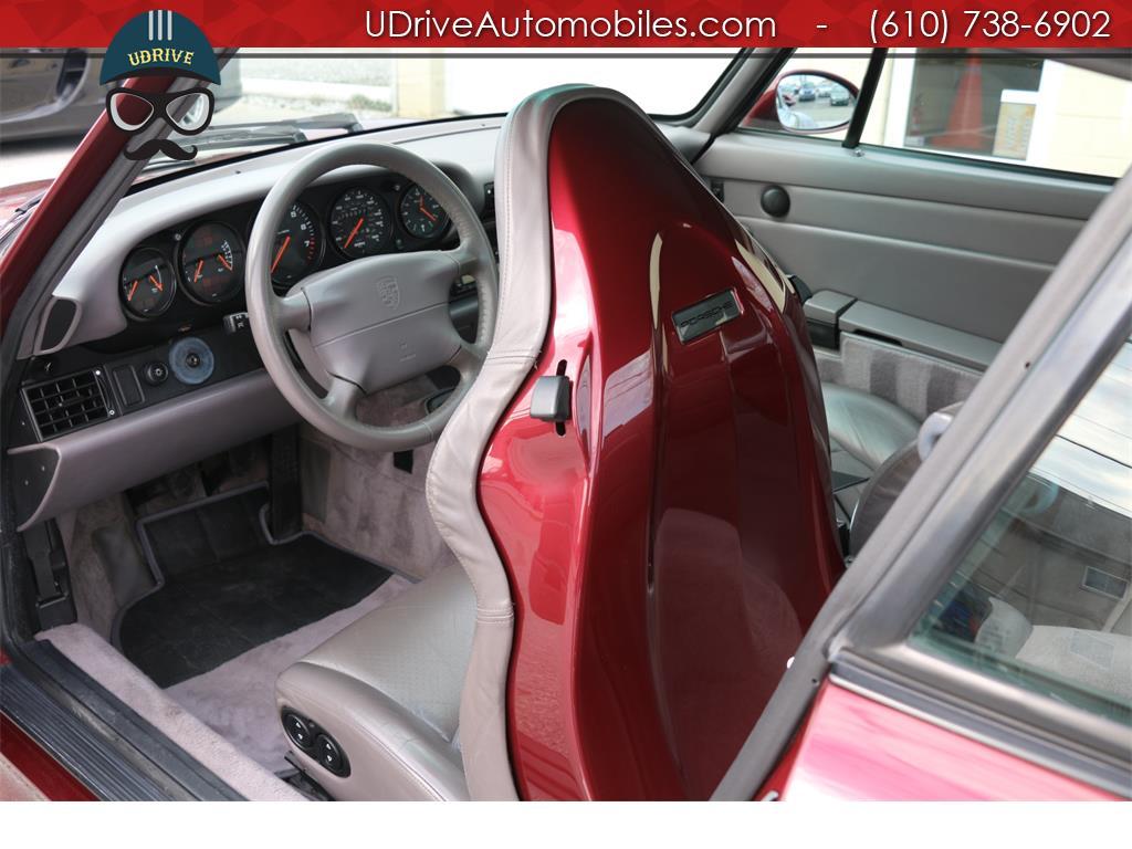 1997 Porsche 911 993 C4S 6spd Factory Aero Kit Painted Sport Seats - Photo 19 - West Chester, PA 19382