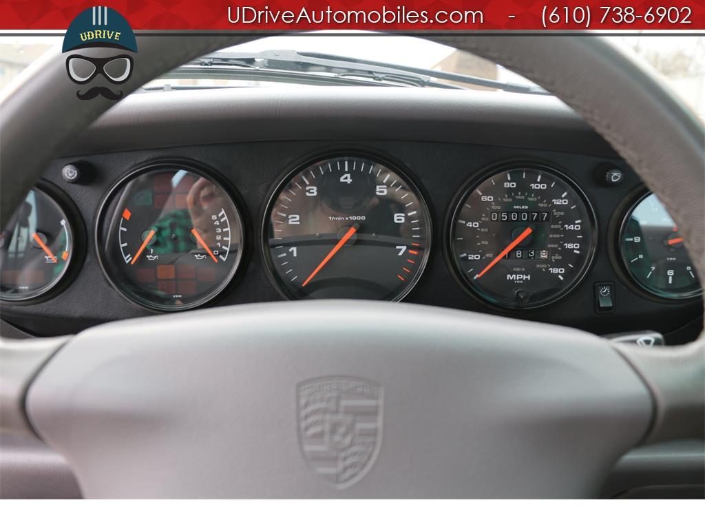 1997 Porsche 911 993 C4S 6spd Factory Aero Kit Painted Sport Seats - Photo 23 - West Chester, PA 19382