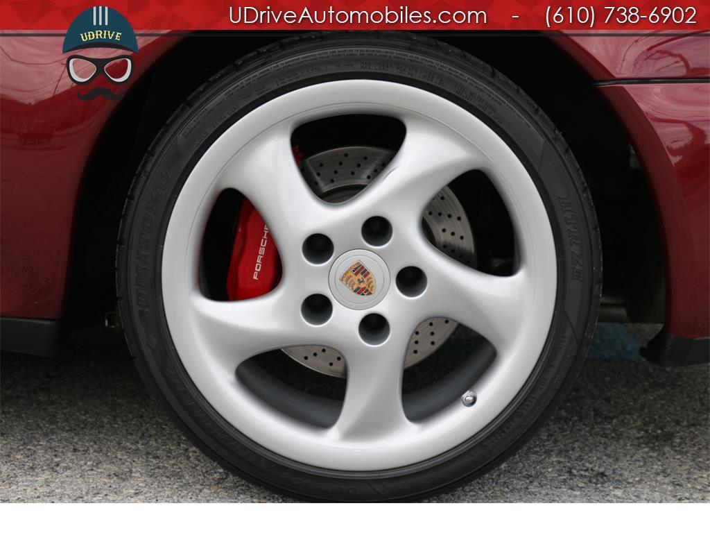 1997 Porsche 911 993 C4S 6spd Factory Aero Kit Painted Sport Seats - Photo 32 - West Chester, PA 19382
