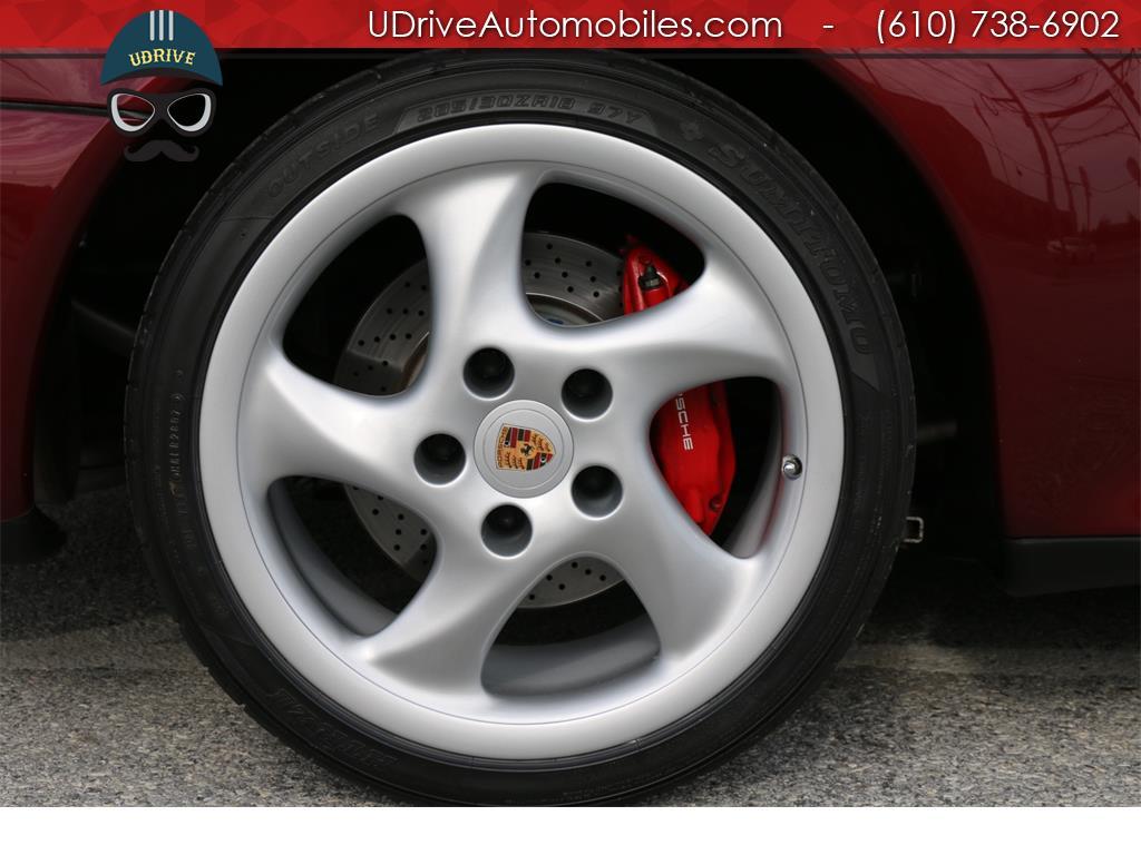 1997 Porsche 911 993 C4S 6spd Factory Aero Kit Painted Sport Seats - Photo 33 - West Chester, PA 19382
