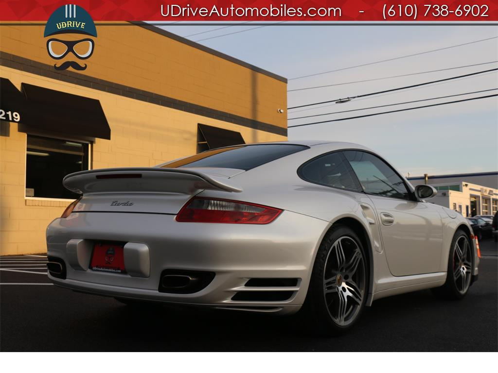 2007 Porsche 911 Turbo Coupe 6 Speed Sport Seats Chrono Serv Hist - Photo 10 - West Chester, PA 19382
