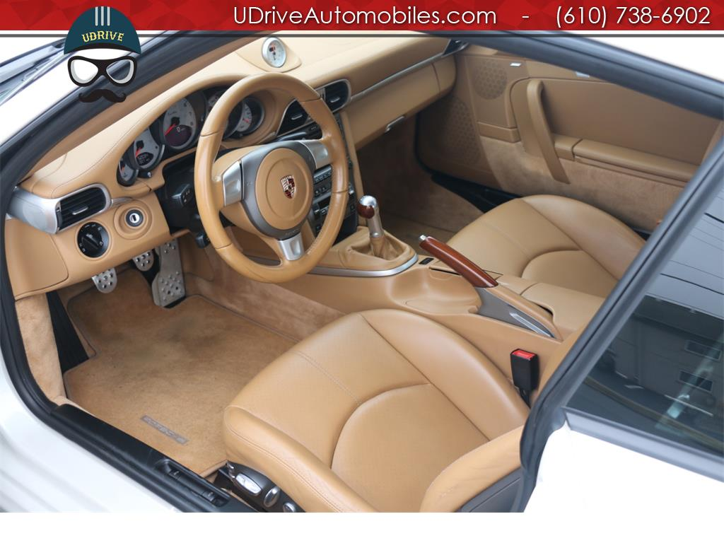 2007 Porsche 911 Turbo Coupe 6 Speed Sport Seats Chrono Serv Hist - Photo 21 - West Chester, PA 19382