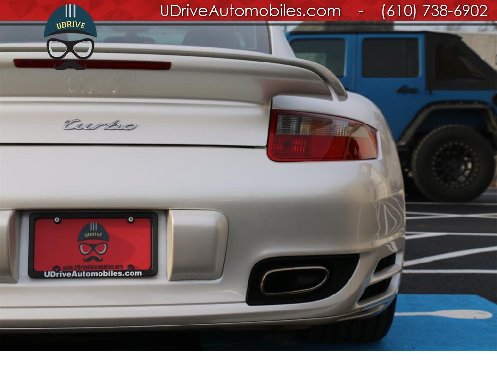2007 Porsche 911 Turbo Coupe 6 Speed Sport Seats Chrono Serv Hist - Photo 11 - West Chester, PA 19382