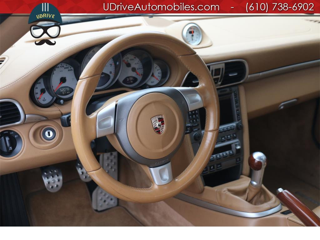 2007 Porsche 911 Turbo Coupe 6 Speed Sport Seats Chrono Serv Hist - Photo 22 - West Chester, PA 19382
