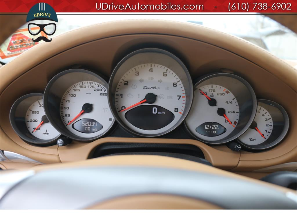 2007 Porsche 911 Turbo Coupe 6 Speed Sport Seats Chrono Serv Hist - Photo 23 - West Chester, PA 19382