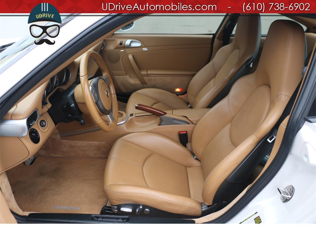 2007 Porsche 911 Turbo Coupe 6 Speed Sport Seats Chrono Serv Hist - Photo 20 - West Chester, PA 19382