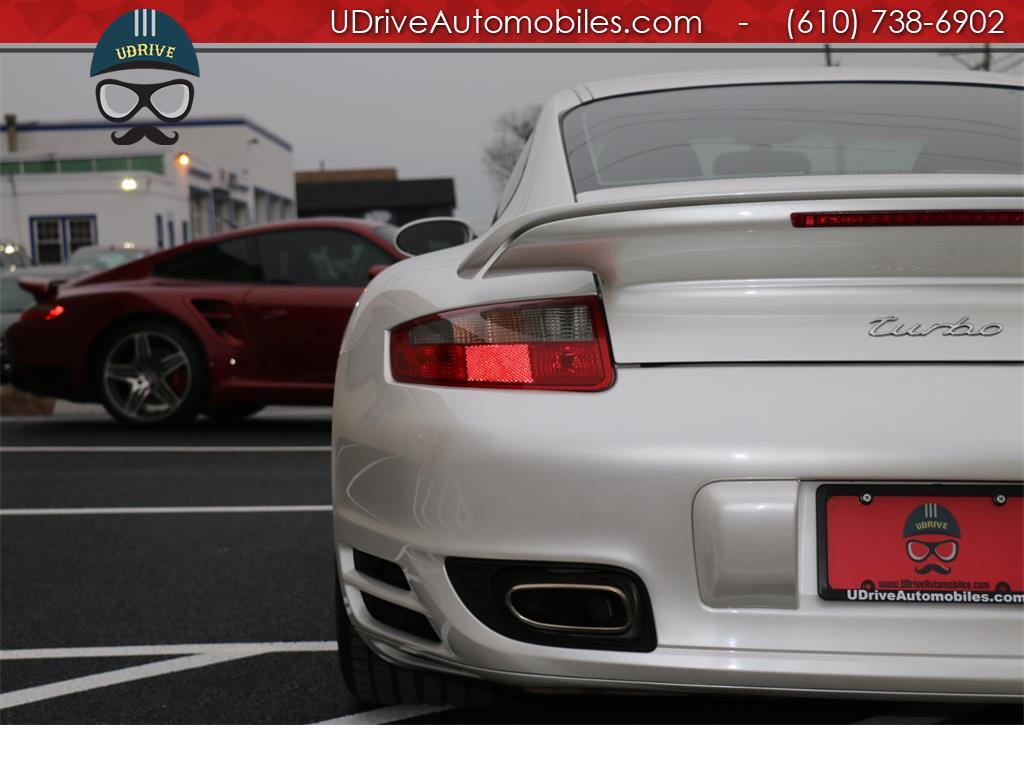 2007 Porsche 911 Turbo Coupe 6 Speed Sport Seats Chrono Serv Hist - Photo 13 - West Chester, PA 19382
