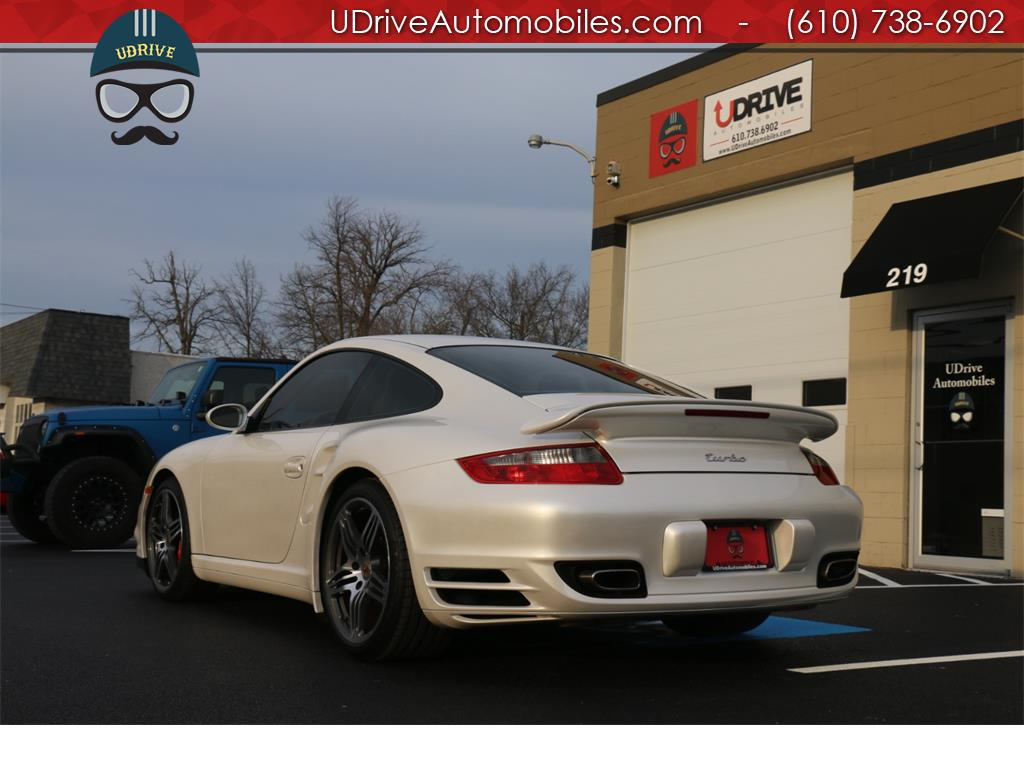 2007 Porsche 911 Turbo Coupe 6 Speed Sport Seats Chrono Serv Hist - Photo 14 - West Chester, PA 19382