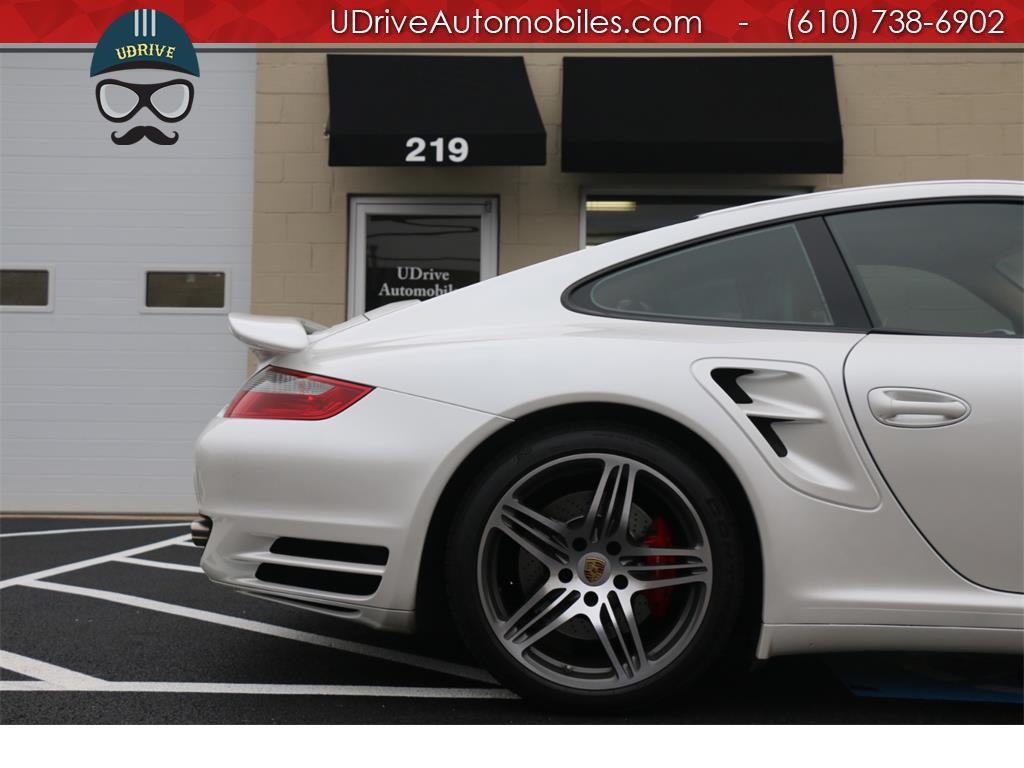 2007 Porsche 911 Turbo Coupe 6 Speed Sport Seats Chrono Serv Hist - Photo 9 - West Chester, PA 19382