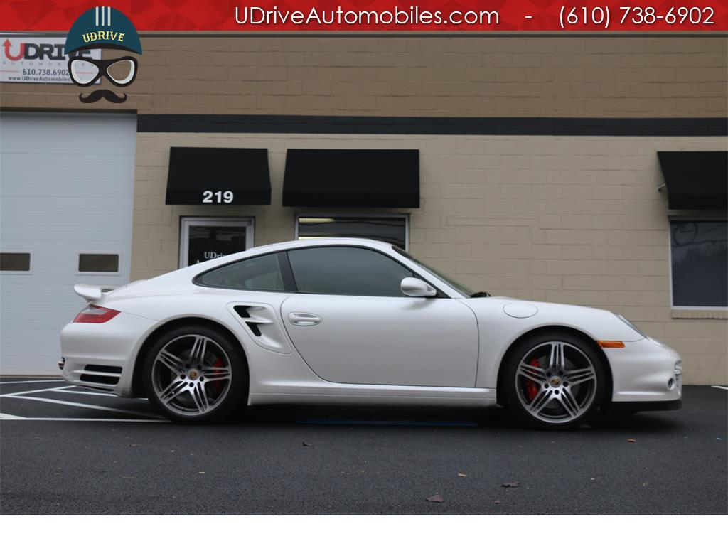 2007 Porsche 911 Turbo Coupe 6 Speed Sport Seats Chrono Serv Hist - Photo 8 - West Chester, PA 19382