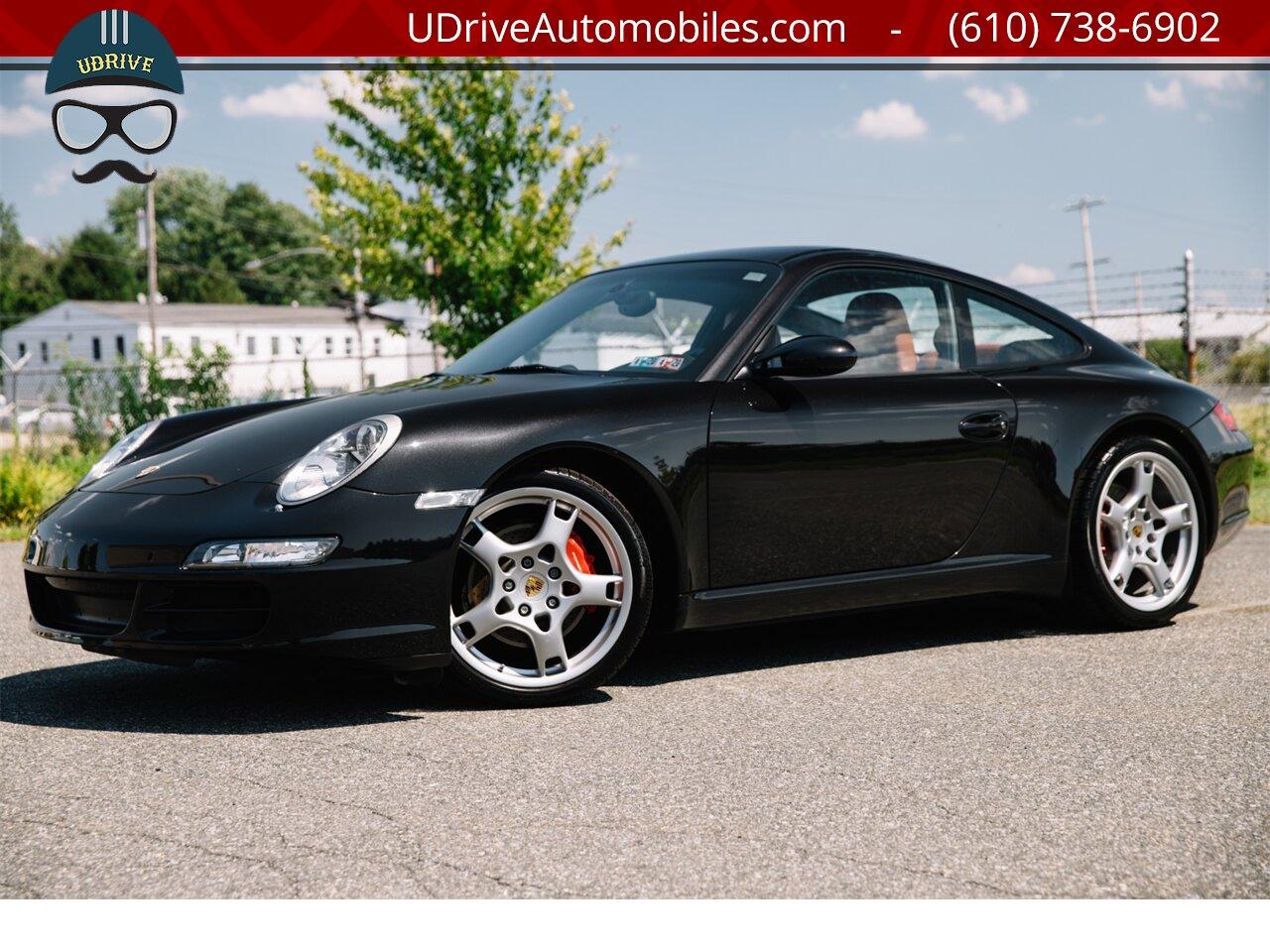 2007 Porsche 911 997S 6Sp Chrono Sprt Seats Sprt Shift Sprt