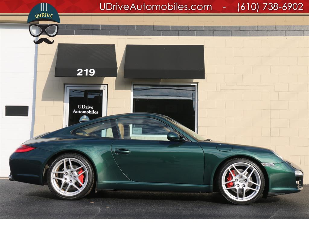 2009 Porsche 911 911S PDK Sport Seats Chrono Racing Green - Photo 9 - West Chester, PA 19382