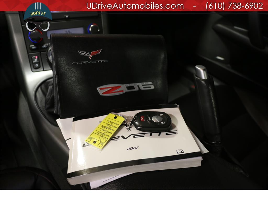 2007 Chevrolet Corvette Z06 2LZ Nav Radar Detector Bose Head Up Display - Photo 33 - West Chester, PA 19382