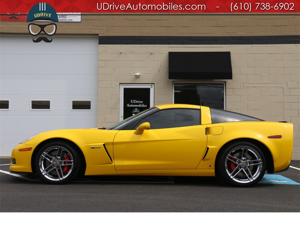 2007 Chevrolet Corvette Z06 12k Miles 2LZ Package Naviagtion HUD New Tires - Photo 1 - West Chester, PA 19382