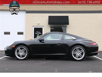 2014 Porsche 911 8k Miles 7 Speed Manual Black over Black 911 991 Coupe