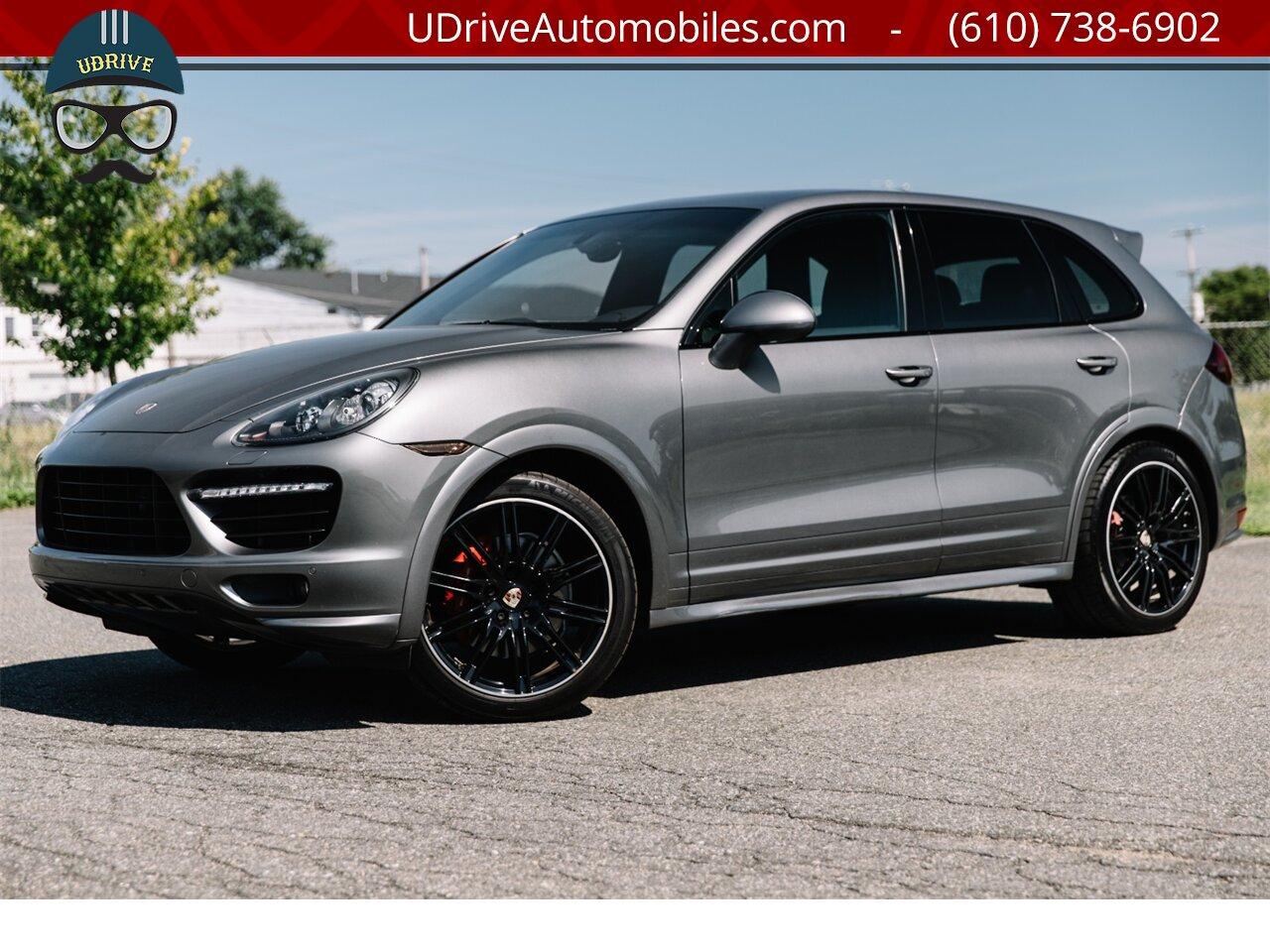 2013 Porsche Cayenne Gts Rare Color Meteor Grey 21in Wheels Alcantara Ptc Lca Bose