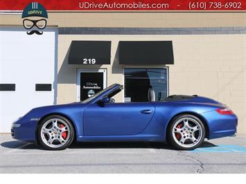 2005 Porsche 911 Carrera S 6 Speed Adap Sport Seats Chrono Nav Convertible
