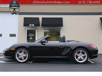 2010 Porsche Boxster 25k Miles Boxster S Triple Black PDK Hts Sts Bose Convertible