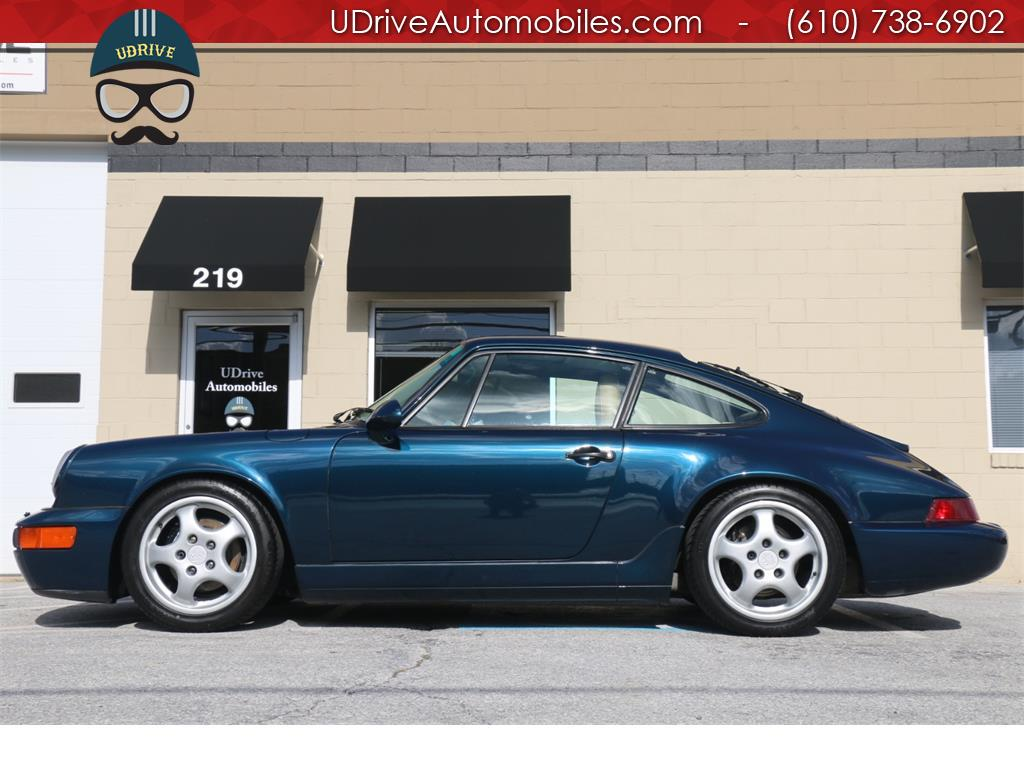 1994 Porsche 911 Rare 964 C2 Coupe 5 Speed Extensive Serv History - Photo 1 - West Chester, PA 19382