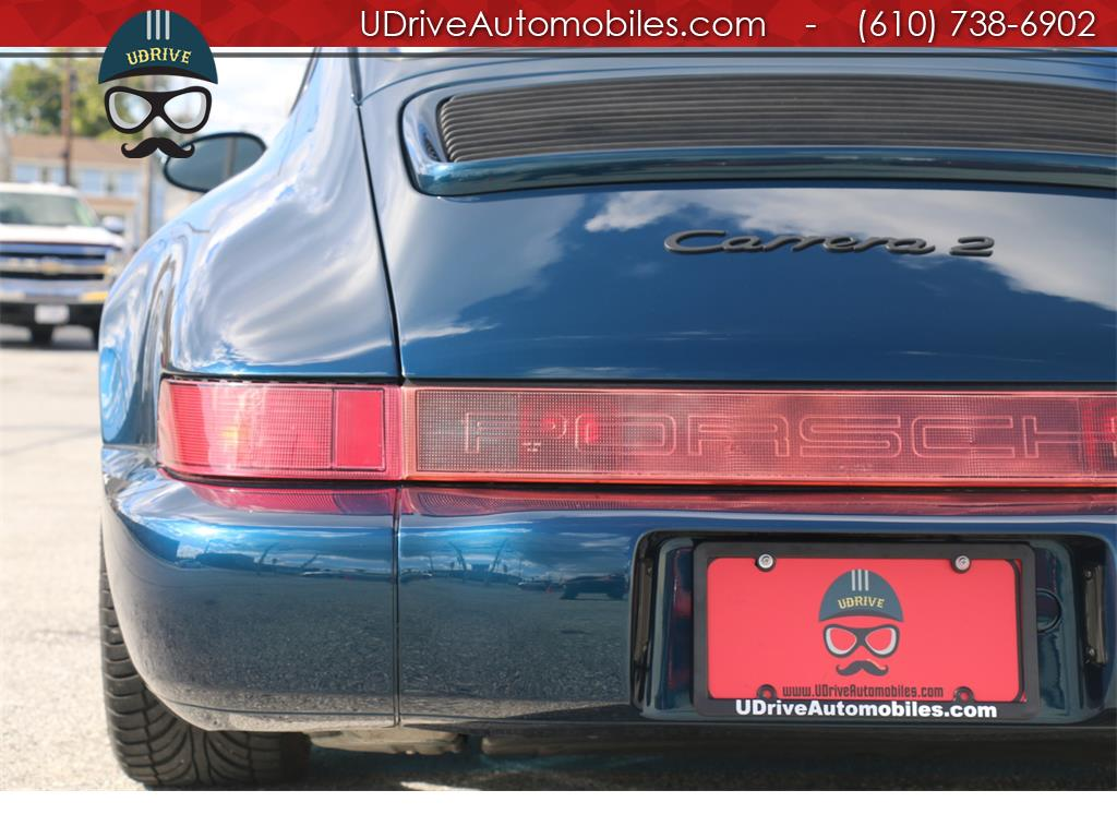 1994 Porsche 911 Rare 964 C2 Coupe 5 Speed Extensive Serv History - Photo 18 - West Chester, PA 19382