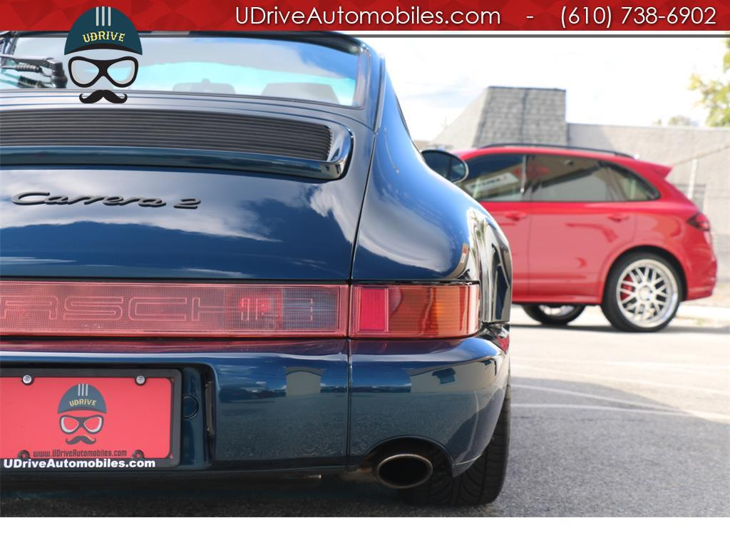1994 Porsche 911 Rare 964 C2 Coupe 5 Speed Extensive Serv History - Photo 13 - West Chester, PA 19382
