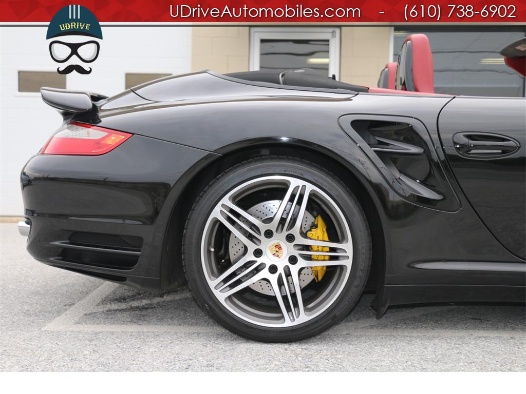 2008 Porsche 911 Turbo Cabriolet 6 Speed Manual 997 - Photo 9 - West Chester, PA 19382