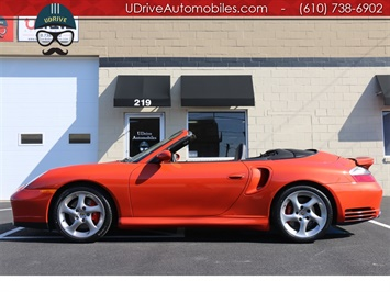 2004 Porsche 911 Turbo Cabriolet 6 Speed Paint to Sample $147k MSRP Convertible