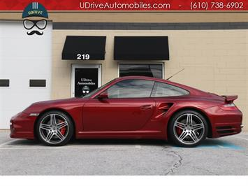 2008 Porsche 911 6 Speed Manual Turbo Coupe Rare Color $149k MSRP Coupe