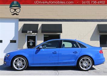 2014 Audi S4 3.0T Prestige Limited Edition Nogaro Blue Sedan