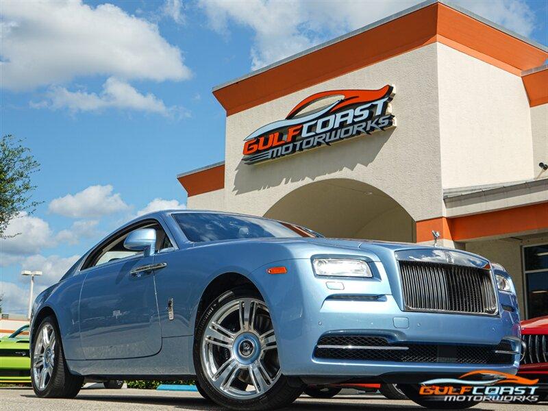 2016 Rolls Royce Wraith For Sale In Bonita Springs Fl