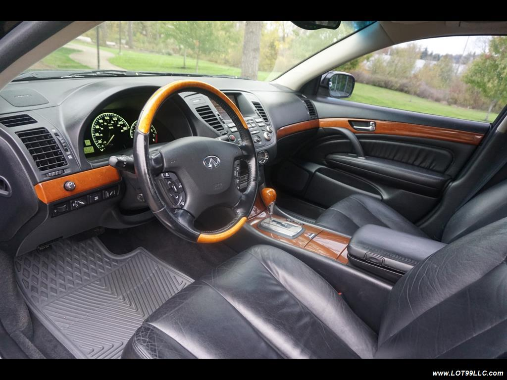 2002 Infiniti Q45 105K Low Miles Navi Leather Heated Seats. - Photo 13 - Milwaukie, OR 97267