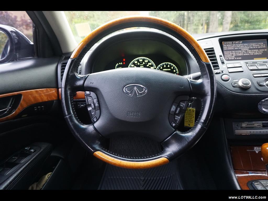 2002 Infiniti Q45 105K Low Miles Navi Leather Heated Seats. - Photo 10 - Milwaukie, OR 97267