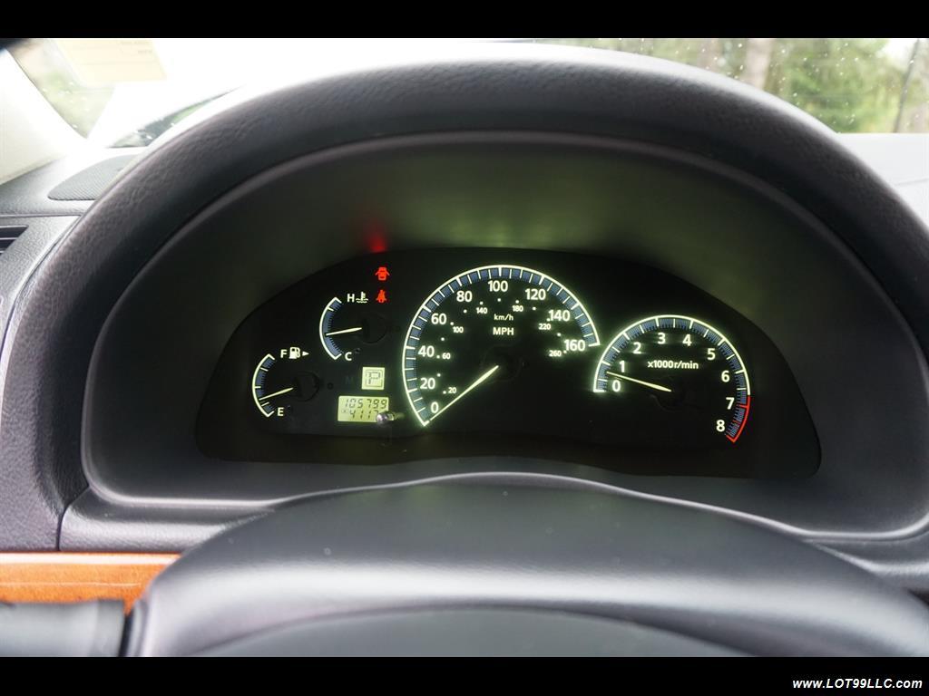 2002 Infiniti Q45 105K Low Miles Navi Leather Heated Seats. - Photo 21 - Milwaukie, OR 97267