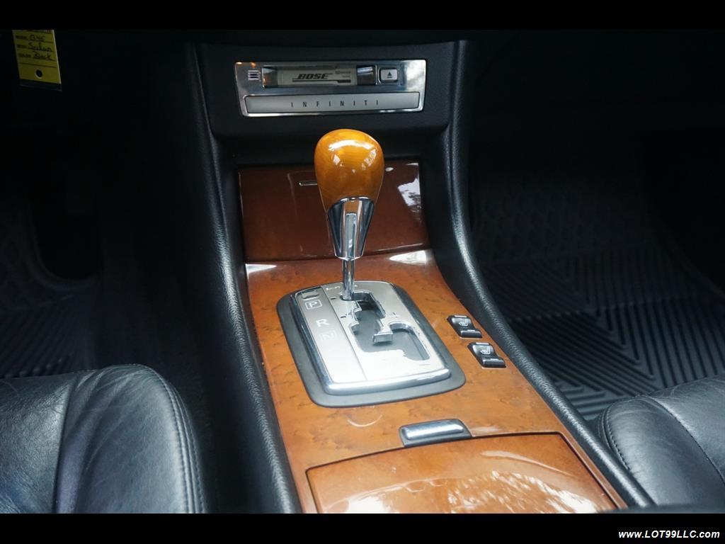2002 Infiniti Q45 105K Low Miles Navi Leather Heated Seats. - Photo 12 - Milwaukie, OR 97267