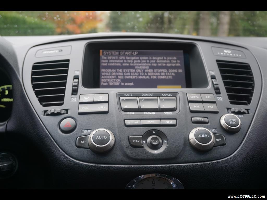 2002 Infiniti Q45 105K Low Miles Navi Leather Heated Seats. - Photo 11 - Milwaukie, OR 97267