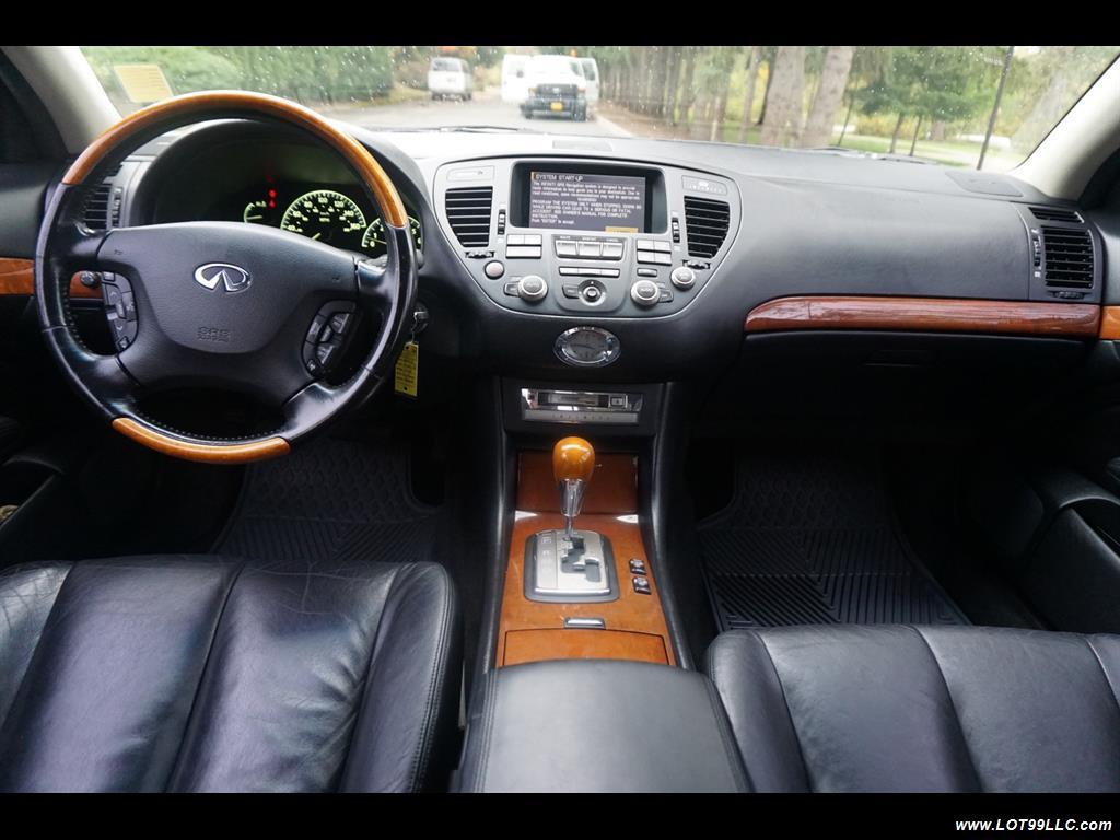 2002 Infiniti Q45 105K Low Miles Navi Leather Heated Seats. - Photo 9 - Milwaukie, OR 97267