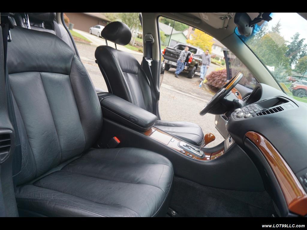 2002 Infiniti Q45 105K Low Miles Navi Leather Heated Seats. - Photo 19 - Milwaukie, OR 97267
