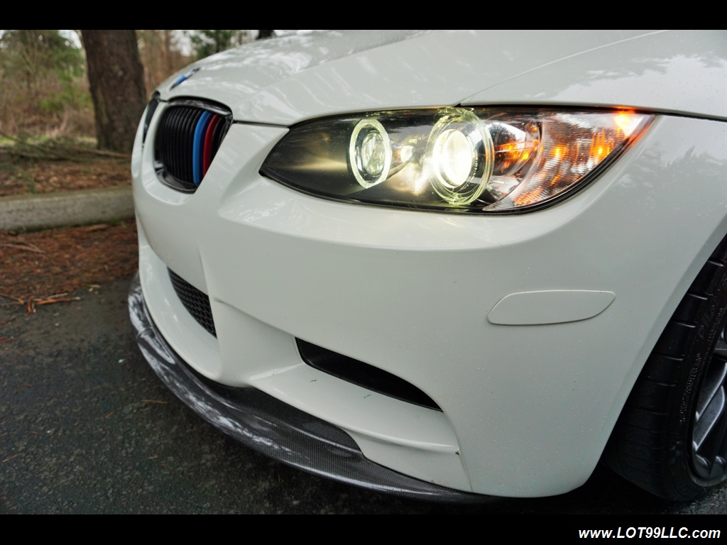 2008 BMW M3 Coupe Alpine White Lowered 19 Wheels Exhaust Tuned - Photo 38 - Milwaukie, OR 97267