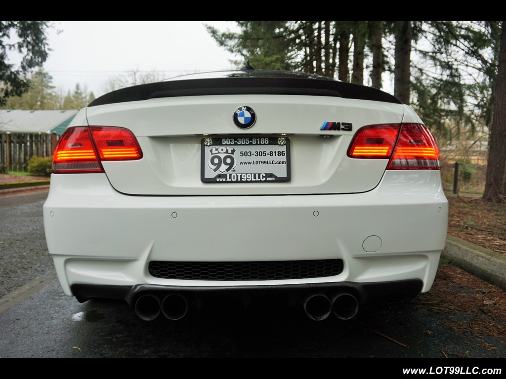 2008 BMW M3 Coupe Alpine White Lowered 19 Wheels Exhaust Tuned - Photo 7 - Milwaukie, OR 97267
