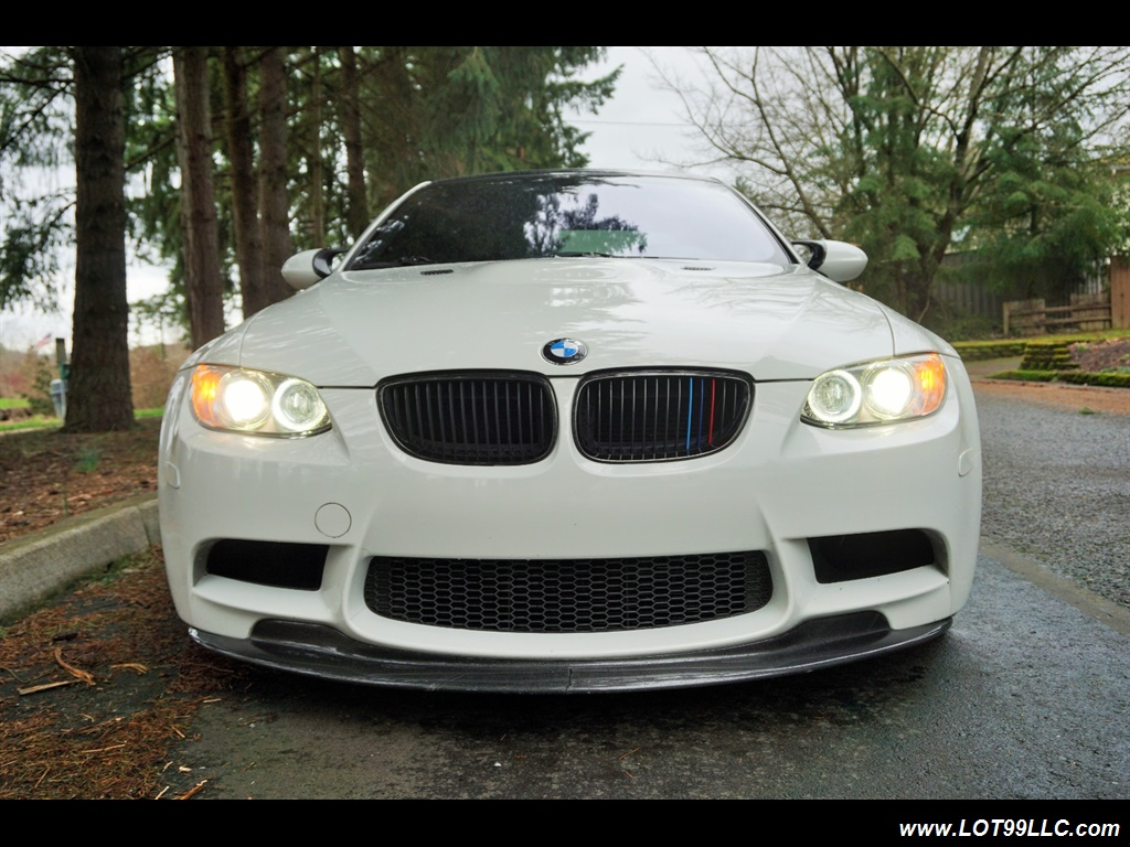 2008 BMW M3 Coupe Alpine White Lowered 19 Wheels Exhaust Tuned - Photo 3 - Milwaukie, OR 97267